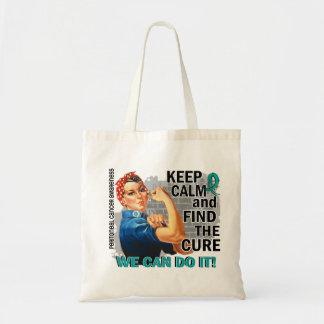 Rosie Keep Calm Peritoneal Cancer.png Canvas Bag