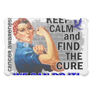 Rosie Keep Calm Rectal Cancer.png iPad Mini Cases