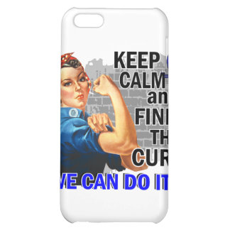 Rosie Keep Calm Rectal Cancer.png iPhone 5C Cases