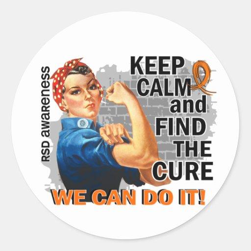 Rosie Keep Calm RSD.png Sticker