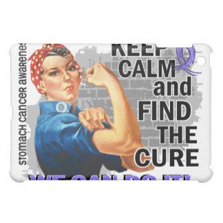 Rosie Keep Calm Stomach Cancer png iPad Mini Cover