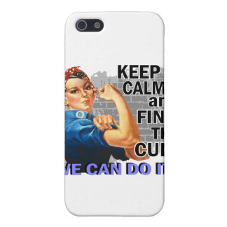 Rosie Keep Calm Thyroid Disease.png Covers For iPhone 5