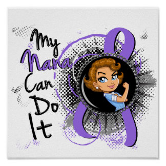 Rosie Nana Can Do It H Lymphoma Poster
