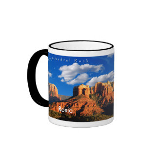 Rosie on Cathedral Rock and Courthouse Mug