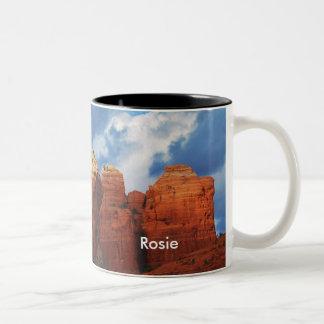 Rosie on Coffee Pot Rock Mug