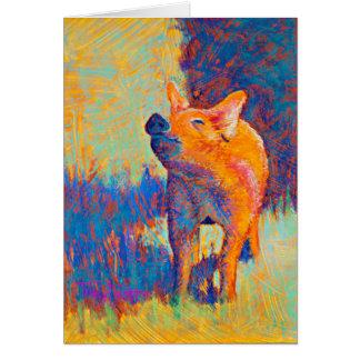 Rosie Pig Note Card
