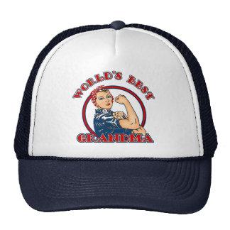 Rosie Riveter Best Grandma Hat