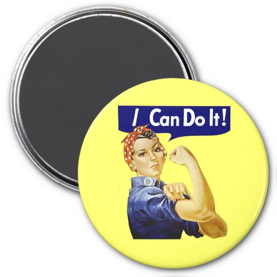 Rosie Riveter - I Can Do It Magnet