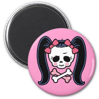 Rosie Roger 6 Cm Round Magnet