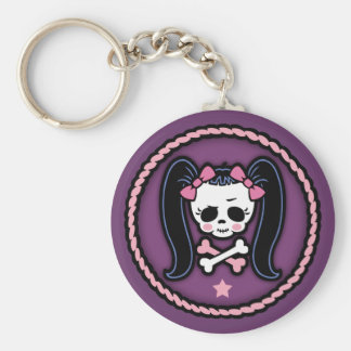 Rosie Roger -rope Basic Round Button Key Ring