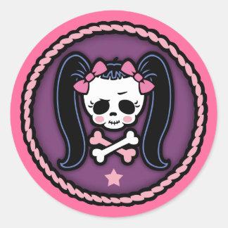 Rosie Roger -rope Round Sticker