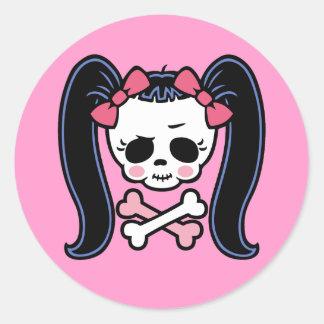 Rosie Roger Round Sticker