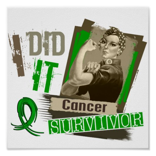 Rosie Sepia I Did It Bile Duct Cancer.png Print