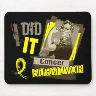 Rosie Sepia I Did It Bladder Cancer.png Mouse Pad