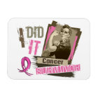 Rosie Sepia I Did It Breast Cancer.png Magnet