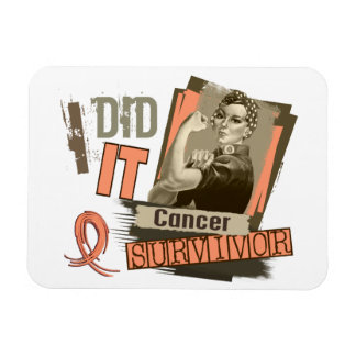 Rosie Sepia I Did It Endometrial Cancer.png Vinyl Magnet