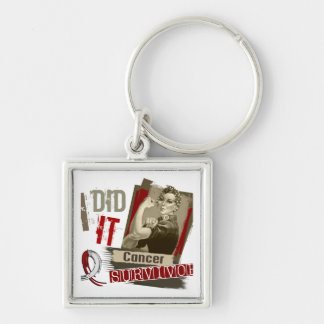 Rosie Sepia I Did It Head Neck Cancer.png Key Ring