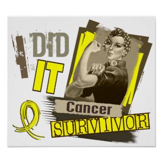 Rosie Sepia I Did It Sarcoma Poster