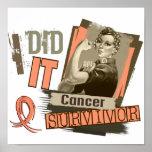 Rosie Sepia I Did It Uterine Cancer