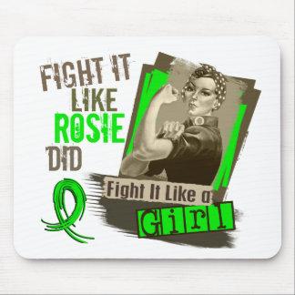 Rosie Sepia Lyme Disease Mousepad