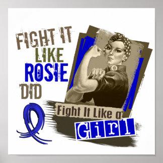 Rosie Sepia RA Poster