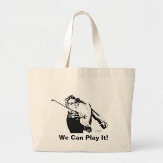 Rosie the Fiddler tote bag