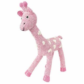Rosie the Giraffe Pin Photo Sculpture Badge
