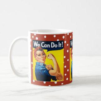 Rosie the Riveter Basic White Mug
