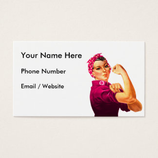 Rosie The Riveter - Cancer Pink