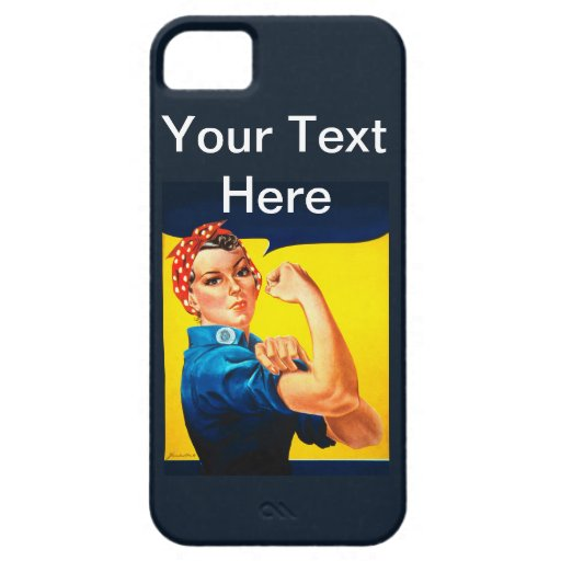 Rosie the Riveter iPhone 5 Cases