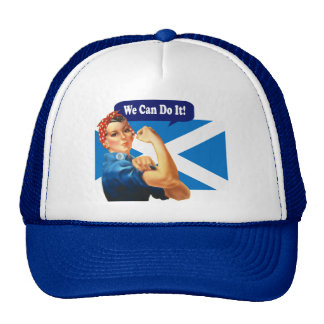 Rosie the Riveter for Scottish Independence Hat