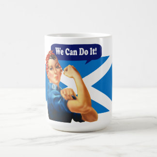 Rosie the Riveter for Scottish Independence Mug
