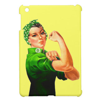 Rosie The Riveter - Green Military Case For The iPad Mini