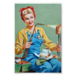 Rosie the Riveter Makes Toasted Cheese