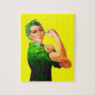 Rosie The Riveter - Military Support Jigsaw Puzzle