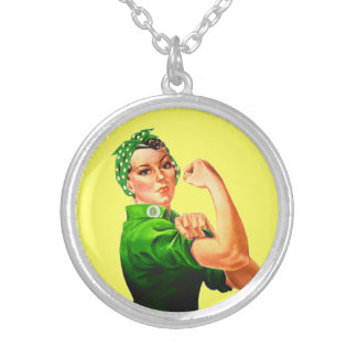 Rosie The Riveter - Military Support Pendants