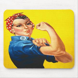 Rosie the Riveter Mousepad