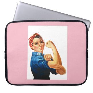 Rosie the Riveter Neoprene Laptop Case 15 inch Laptop Computer Sleeves