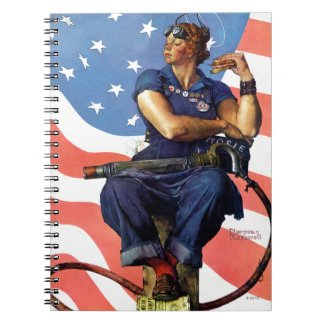 """Rosie the Riveter"" Notebook"