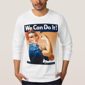 Rosie the Riveter Orange T-Shirt