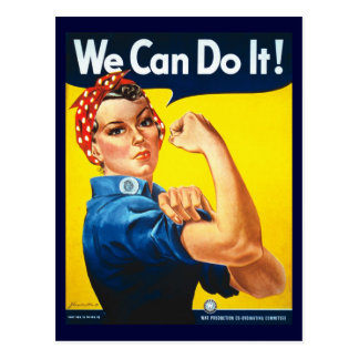 Rosie the Riveter Postcards
