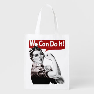 Rosie the Riveter Reusable Grocery