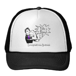 Rosie The Riveter Take a Stand Leiomyosarcoma Hat
