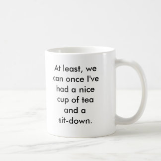 Rosie the Riveter tea break Mugs