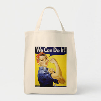 Rosie the Riveter tote