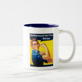 Rosie the Riveter Two-Tone Mug