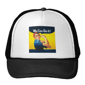 "Rosie the Riveter ""We Can Do It!"" Cap"