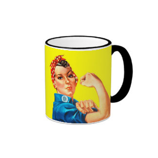 Rosie the Riveter - We can do it, Cultural Icon Coffee Mugs