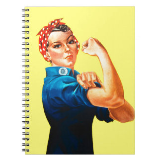 Rosie the Riveter - We can do it, Cultural Icon Notebooks