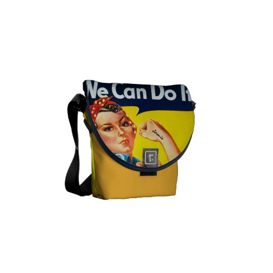 Rosie the Riveter We Can Do It Messenger